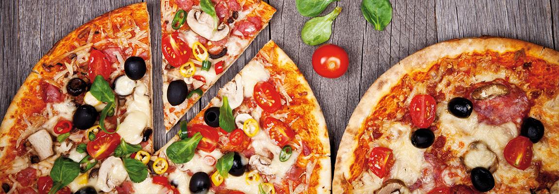 Pizza à l'emporter